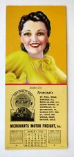 Vertical March 1944 Pin Up Girl Blotter by Billy Devorss Golden Girl  Nice!