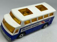 Matchbox Lesney Superfast No 65 Airport Coach - British Airways - VNM