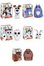 Funko POP Movies The Secret Life of Pets Vinyl Action Figure Set of 5 FREE SH!