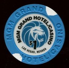 $1 Las Vegas MGM Obsolete Casino Chip - UNCIRCULATED
