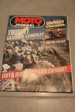MOTO JOURNAL N°737 KAWASAKI GPZ 1000 RX, VISITE DEVIL ★ ENDURO DU TOUQUET 1986 ★