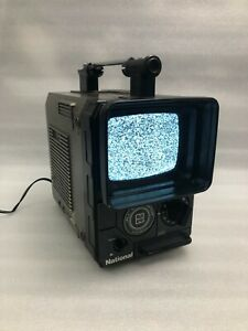 Vintage National Ranger 555 Al Transistor TV  Model TR-555DU National Panasonic