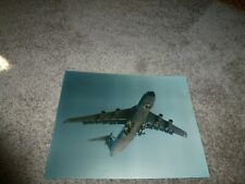 "USAF Lockheed C-5A Galaxy Aircraft Photograph Travis AFB 1987 11"" by 14"""
