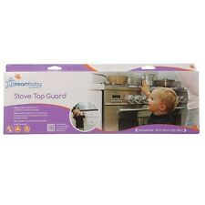 DreamBaby Stove Top Guard Kitchen Safety Cooker Top Guard Baby Proof Transparent
