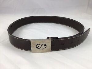 Escada Brown Leather Belt