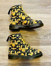 Dr. Martens Castel Adventure Time Jake Print Ankle Boots Men's 8, Women's 7