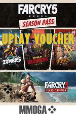 Far Cry 5 Season Pass - Uplay Voucher - PC Uplay Digital Download Key - Nur DE