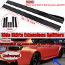 For Audi A3 8P A4 B8 A5 A6 S3 S4 TT 8J Side Skirts Extensions Rocker Splitter 2M