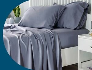 Carlty's Silk Fitted Bed Sheets. Beautiful Silk - Single, Double or King Size.