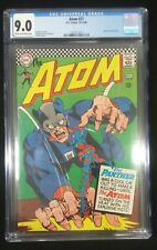 The Atom #27 CGC 9.0 VF/NM 1966 Off-WHITE to White Pages Flawless New CGC Case