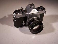 Pentax Spotmatic 35mm SLR Film Camera with 50 mm lens Kit