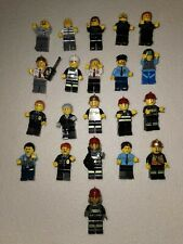 21 Lego Minifigures Bundle Police Fireman And Robbers