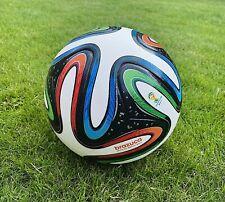 BRAZUCA FOOTBALL WORLD CUP BRASIL SIZE 5 2014 OFFICIAL SOCCER BALL