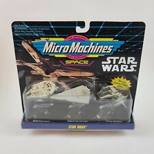 Micro Machines Star Wars Space 1993 NEW in Box Collection #1 Millennium Falcon