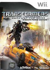 TRANSFORMERS: DARK OF THE MOON STEALTH FORCE EDITION Wii