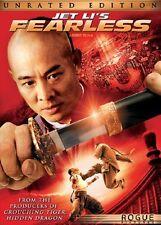 DVD - Action Jet Li's Fearless - Jet Li - Nakamura Shidou - Sun Li - Dong Yong