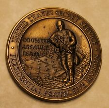 Secret Service Counter Assault Team CAT Presidential Protection Challenge Coin