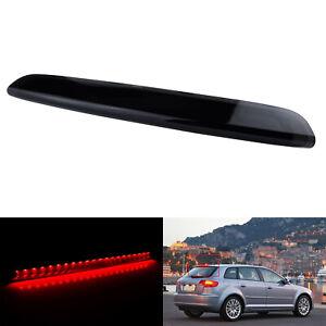 Noir LED Feu de Stop Frein Supplémentaire Arriere Pour Audi A3 Sportback S3 8P