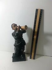 African American Horn player figurine