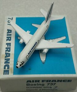 Schabak 1:600 Scale Diecast 925-47 Aircal Airlines Boeing 737-300 New in Box