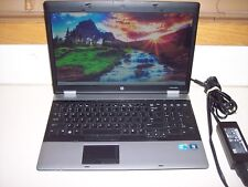 "HP Probook 6550B/2.4ghz Core i5/6GB/160GB/15""/dvdrw/WIN7PRO-WORKSGREAT!!"