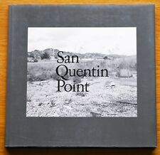SIGNED - LEWIS BALTZ - SAN QUENTIN POINT - 1986 1ST EDITION & PRINTING - FINE