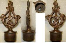 Ancienne MOUCHETTE Éteignoir de Bougie de Chandelier en Bronze, décors de Roses