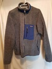 Men's Patagonia Retro-X Full Zip, windproof, deep pile Fleece Jacket L