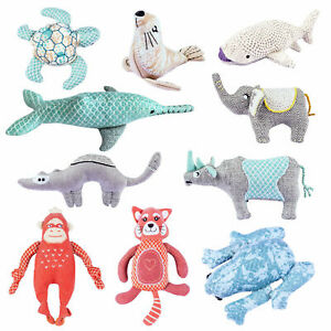 Resploot Dog Toys Soft Plush Cuddle ECO Recycled Plastic Endangered Species