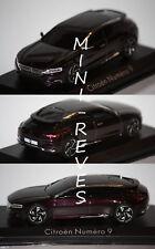 Norev Citroën Concept Car numero 9 2012 1/43 159501