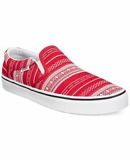 Vans Asher XMAS Men's Slip-On Casual Sneakers 9 (New)