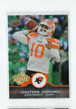 2016 Upper Deck CFL Update SP Jonthan Jenkins  Lions U1