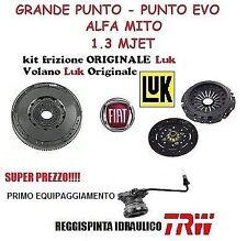 KIT FRIZIONE E VOLANO FIAT GRANDE PUNTO 1.3 MJET 90 CV ORIGINALE FIAT COMPLETO