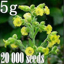 5g Organic Tobacco Nicotiana rustica Mapacho seeds 20 000 lot job resale Indian