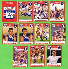 1991  FOOTSCRAY BULLDOGS  AFL CARDS