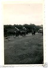 Tour de france vélo cyclisme voiture ancienne - photo ancienne an. 1940