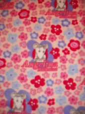 ANGELINA BALLERINA FLORAL FLEECE FABRIC OOP