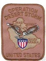 OPERATION DESERT STORM USMC NAVY USAF MILITARY    PATCH