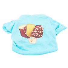 Summer Small Pet Dog Puppy Cat Vest T-Shirt Coat Tops Clothes Apparel Costumes