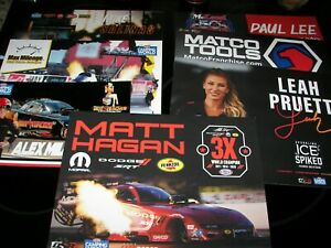46 - 2021 NHRA Pro Handouts From TF - FC - PS - PSM - All Different thru Pomona