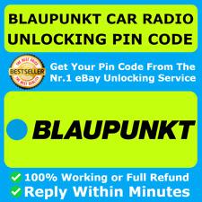 BLAUPUNKT RADIO PIN CODE DECODE UNLOCKING FORD FIAT NISSAN ALFA ROMEO BMW OPEL