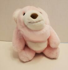Gund Pink Snuffles Bear Soft Toy Stuffed Animal Vintage 80's