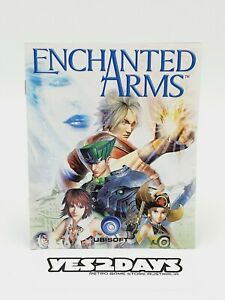 ENCHANTED ARMS PlayStation 3 ps3 Game Manual | Excellent Condition