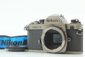 *NEAR MINT w/Cap* NIKON New FM2/T Titan 35mm SLR Film Camera From JAPAN #FedEx#