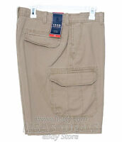 New Mens IZOD Cargo Shorts Gray Beige Khaki Green Camo Brown 32 34 38 40 42