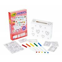 Crayola Decorate Your Own Valentine Mailbox Includes Stickers Markers and Cards