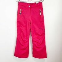 Obermeyer Girls Winter Snow Ski Pants Pink Size 8
