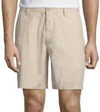 "Columbia Mens Shorts Khaki 36 42 44 Angus Springs 8"" Inseam Flat Front Tan NWT"