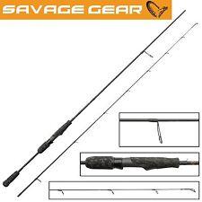 Savage Gear Black Savage Spin 228cm 5-20g Spinnrute, Forellen- und Barschrute