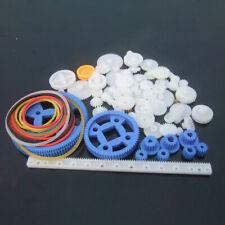 78x Sortierte Zahnstangen Antriebsrädchen Kunststoff Zahnräder Modellbau